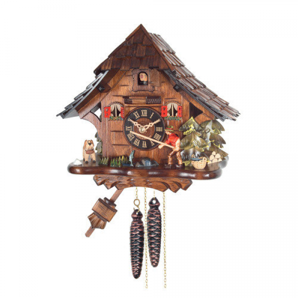 Alexander Taron Engstler Weight-Driven Cuckoo Wall Clock - Walmart.com