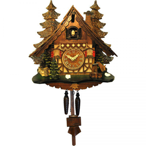 Alexander Taron Engstler Battery-Operated Cuckoo Wall Clock - Walmart ...
