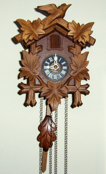 cuckoo clock circa modern this is a cute little miniature cuckoo clock ...