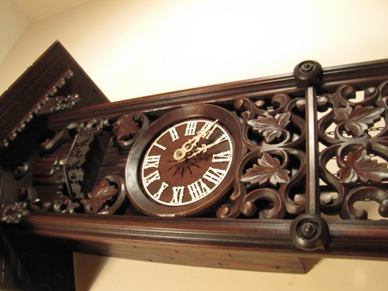 Beautiful cuckoo clock! | I love clocks | Pinterest