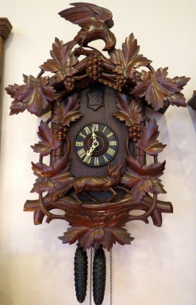 Black Forest Clocks | ... Nance Antique Clocks For Sale - Robin Nance ...