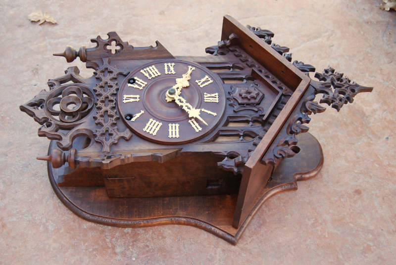 ... Cuckoo Clock by Johann Baptist Beha model 597 | Black Forest Clocks
