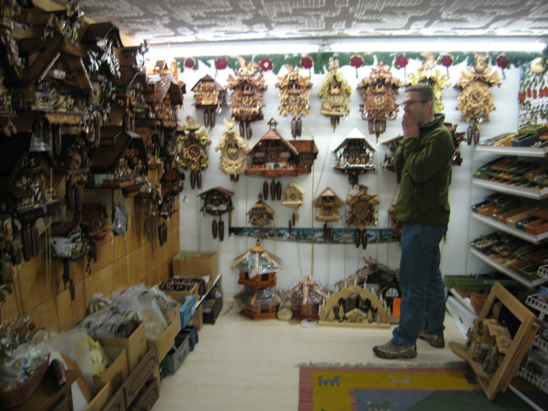 Zev and Fi: Cuckoo Clocks and the Black Forest