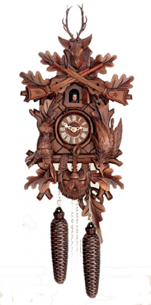 Hunter style cuckoo clock by Herr