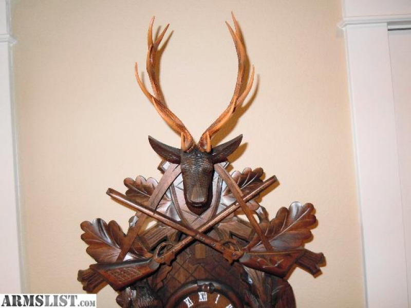 ARMSLIST - For Sale: German Cuckoo Clock Hunter Style Large 8 Day