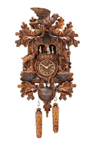 Carved Cuckoo Clocks Cuckoo Clock Quartz-movement -Style 44cm by ...