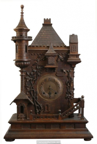 Antique Clock Cuckoo | # Antique Clocks # | Pinterest