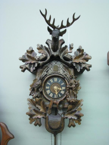 Vintage German Cuckoo Clock | German - Cuckoo Clocks | Pinterest