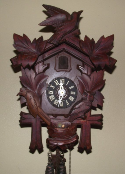 Vintage Cuckoo Clock by WebberClocks on Etsy, $110.00