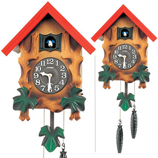 ... clock cuckoo clock cuckoo clock Citizen citizen rhythm clock
