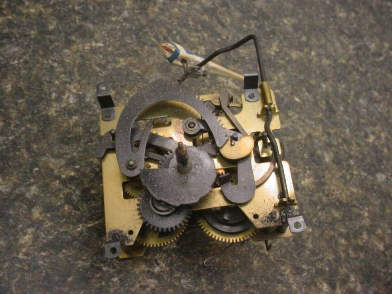 440 Cuckoo Clock Mfg Made in West Germany Movement Parts Repair Work ...