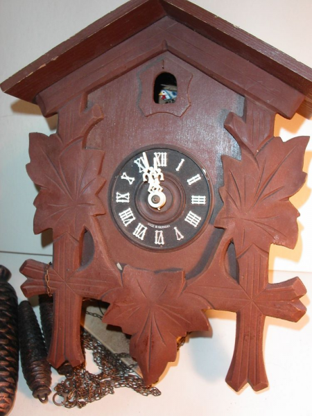 Vintage Wood Coo Coo Clock West Germany 8 Day Clock | eBay