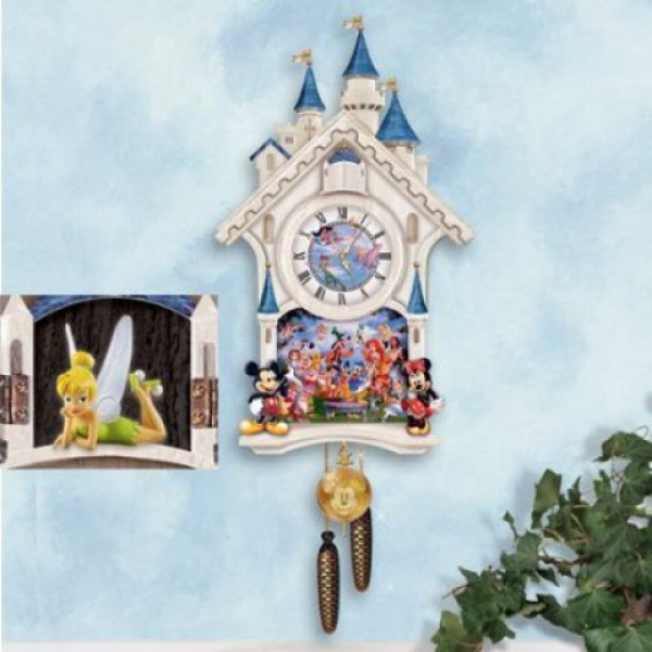 Disney Character Cuckoo Clock: Happiest Of Times by The Bradford ...