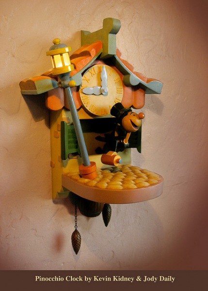 Pinocchio Cuckoo Clock Replica | Pinocchio Hiccuping D… | Flickr ...