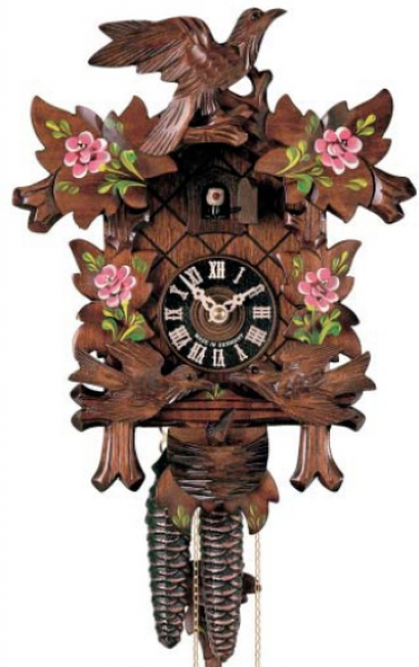 Cuckoo clocks that are new from Germany.