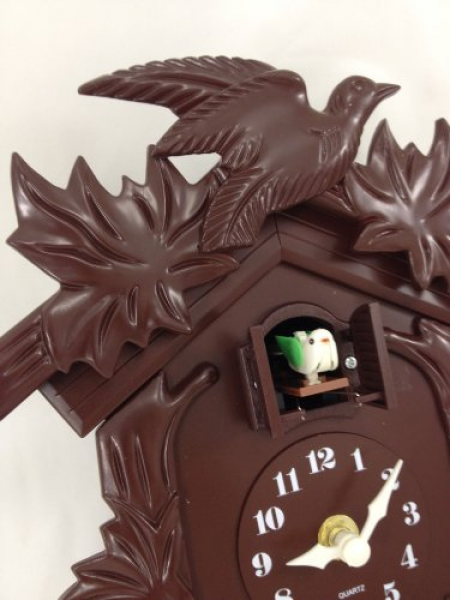 ... Point Old World Cuckoo Clock Birdhouse Design with Cuckoo Bird Chime