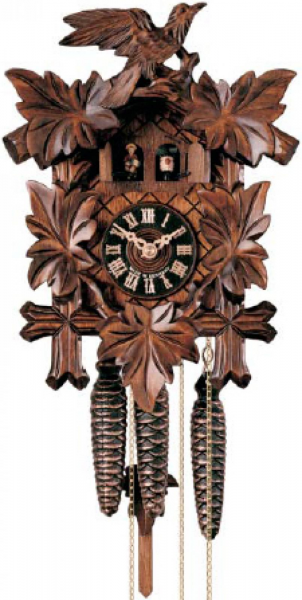 ... German Black Forest Cuckoo Clock 1 Day Traditional Musical - NYC1416