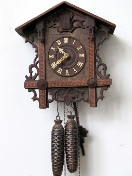 Antique Black Forest German Two Weights Cuckoo Clock | eBay