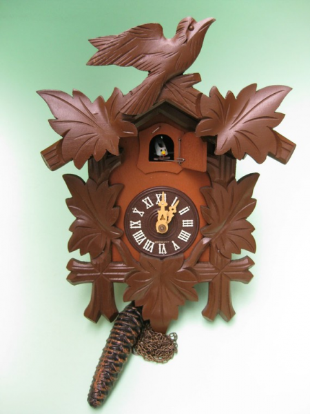 Vintage Black Forest German Cuckoo Clock by aquamarinedream