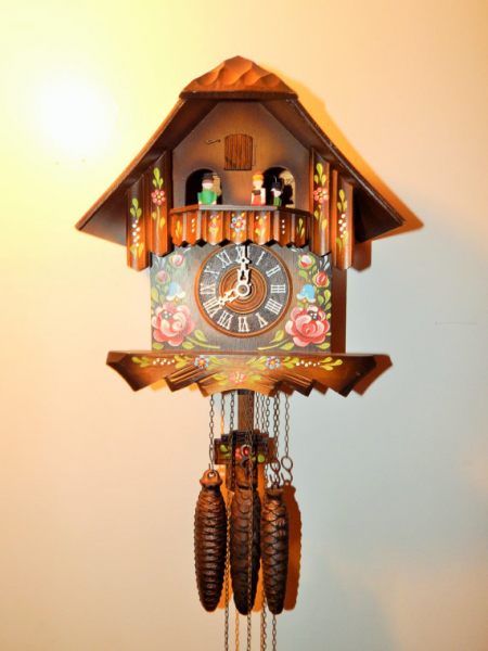 Antique Black Forest German Cuckoo clock. This is a beautiful cuckoo ...