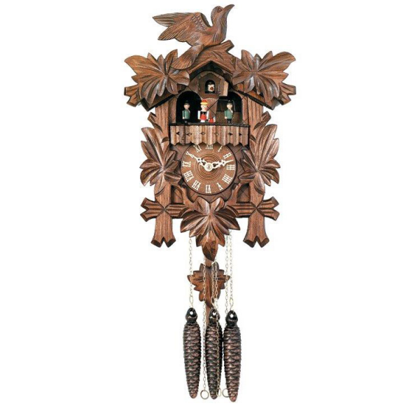 River City Clocks MD411-14 One-Day Musical Cuckoo Clock