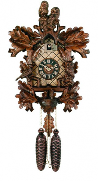 831-18 River City Eight Day Cuckoo Clock