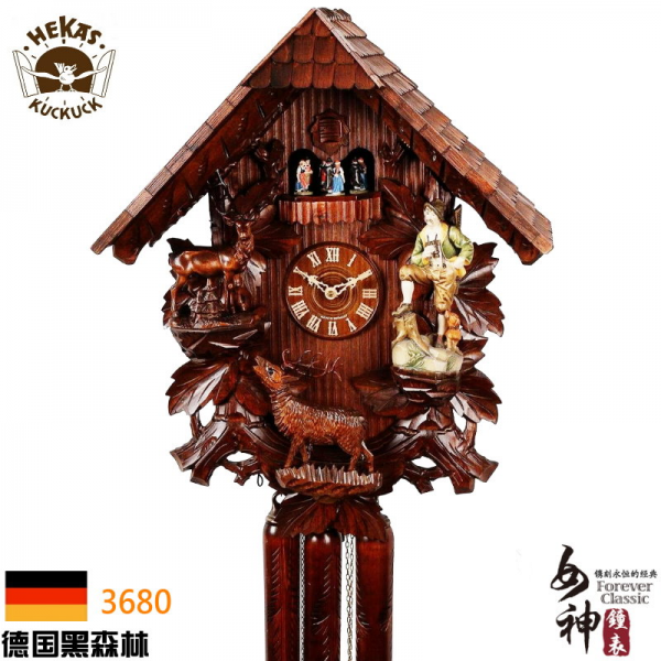 H3680-authentic-German-Black-Forest-cuckoo-clocks-Mechanical-cuckoo ...