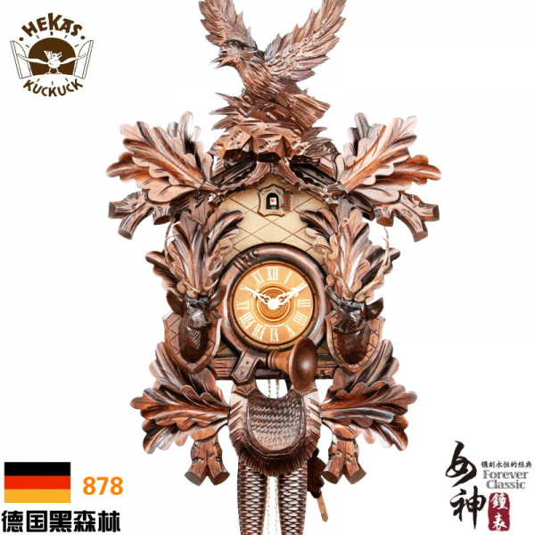 Authentic-German-Black-Forest-cuckoo-clocks-Mechanical-cuckoo-carved ...