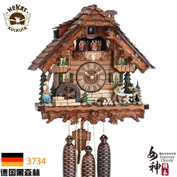 Original-authentic-German-Black-Forest-cuckoo-clocks-Mechanical-cuckoo ...