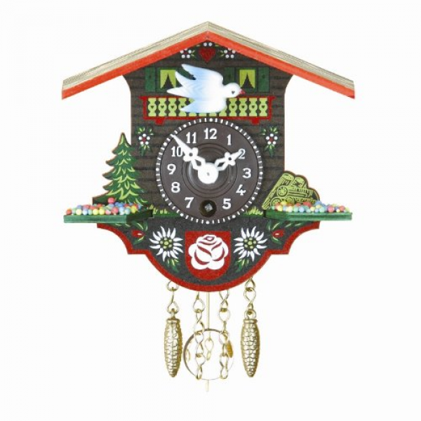 Home 1 day Black Forest Clock Swiss House TU 16 P
