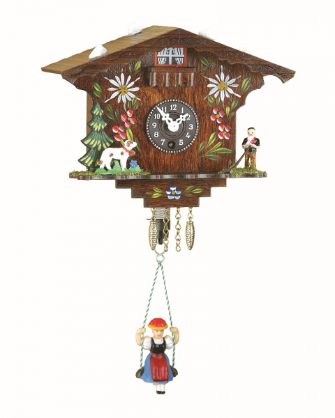 ... clock is also included. Please note, the clock does not have a cuckoo