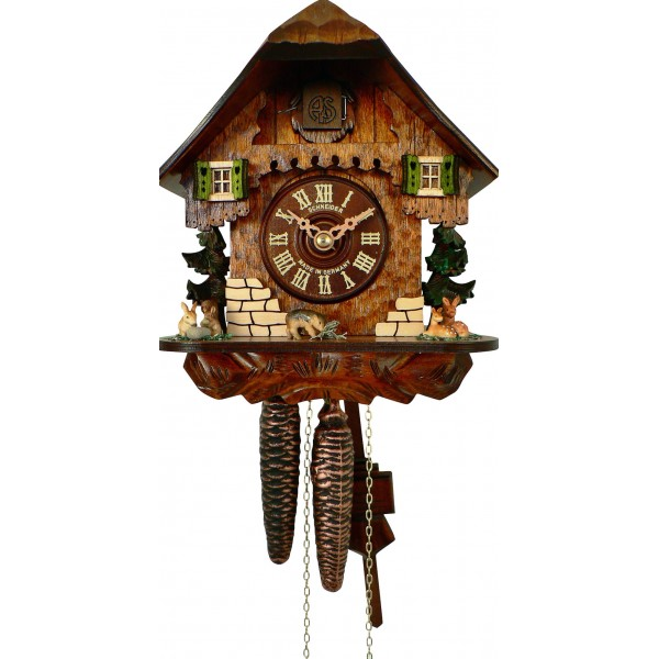 Home > Cuckoo clocks > Cuckoo clock Black Forest cottage