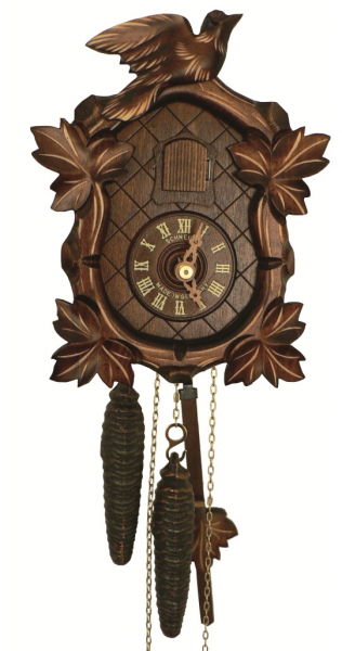 Cuckoo Clock Four Leaves, Bird - 1 day running time - Nr. SC 40/9