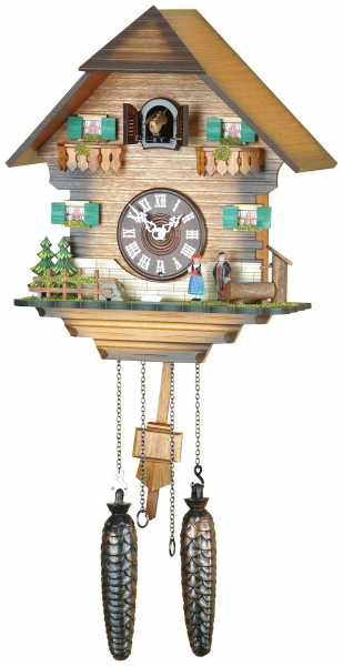 ... Clocks Cuckoo Clock Quartz-movement Chalet-Style 31cm by Trenkle Uhren