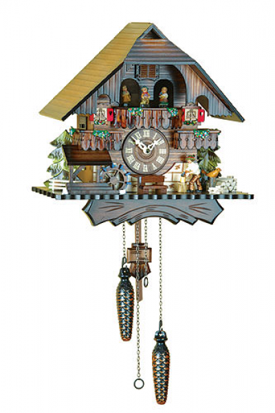 Cuckoo Clock Quartz-movement Chalet-Style 33cm by Trenkle Uhren ...