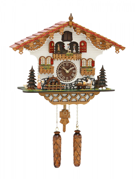 ... Clocks Cuckoo Clock Quartz-movement Chalet-Style 35cm by Trenkle Uhren