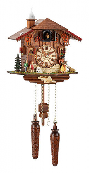 Cuckoo Clock Quartz-movement Chalet-Style 22cm by Trenkle Uhren - 464Q
