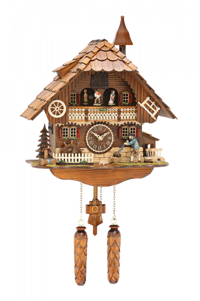 ... Clocks Cuckoo Clock Quartz-movement Chalet-Style 33cm by Trenkle Uhren