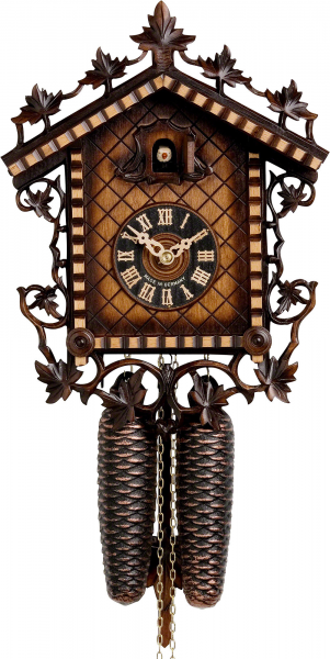 Chalet Cuckoo Clocks Cuckoo Clock 8-day-movement Chalet-Style 33cm by ...