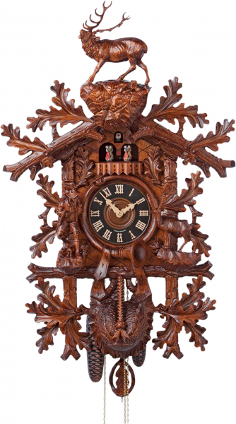 Carved Cuckoo Clocks Cuckoo Clock 8-day-movement Carved-Style 85cm by ...