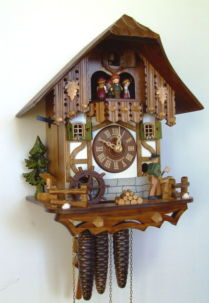 Cuckoo Clock | Schneider Best Seller | Wood Chopper Dancer | MT 6563/9