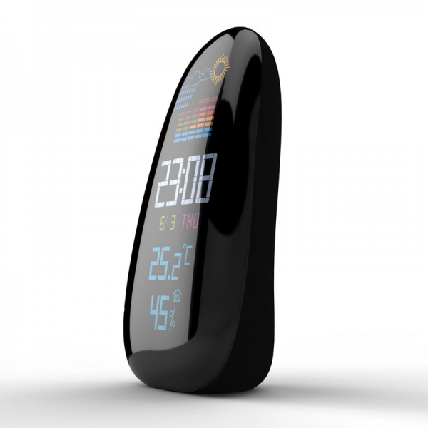 ... Outdoor Wireless Weather Temperature Humidity Remote Sensor Clock