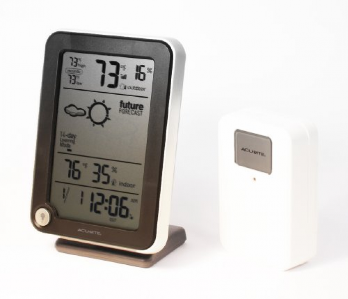 ... Wireless Weather Station with Remote Sensor, Clock and Date | Home