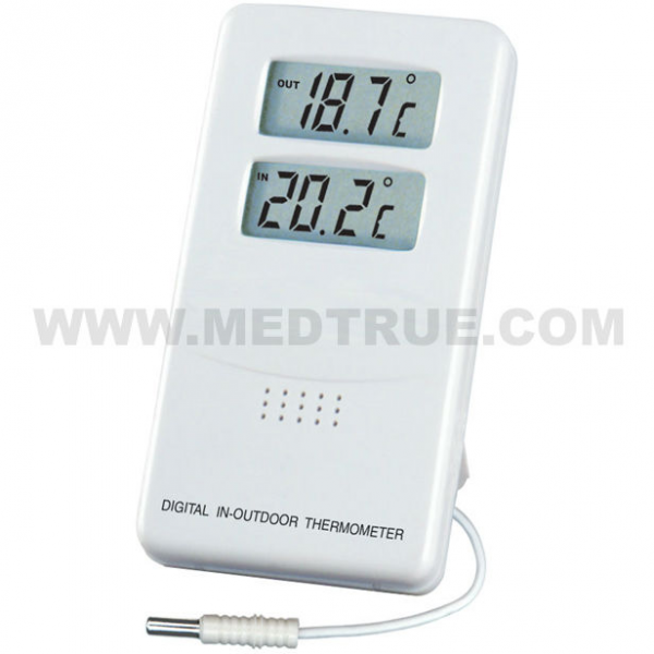 Digital Thermometer Hygrometer With Alarm Clock - Buy Thermometer ...