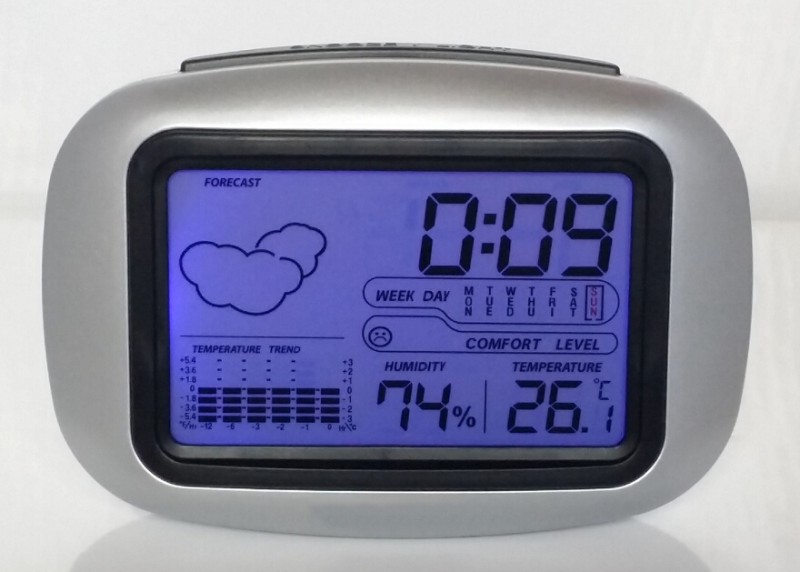 Weather-Station-Alarm-Clock-Digital-Bedside-Table-Wake-Up-Clock-with ...