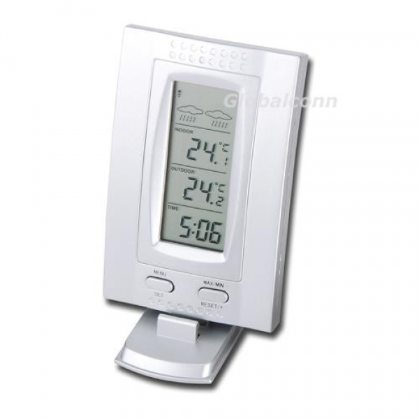 Digital Wireless Weather Station Thermometer Clock °C/F