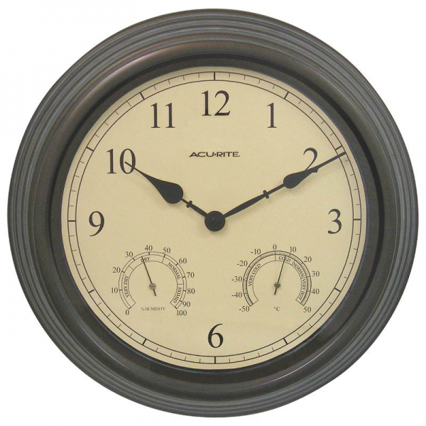 ... Wall Clock Hygrometer & Thermometer 15 at EssenntialHardware.com