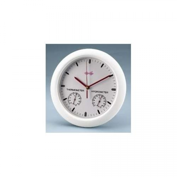 VWR Wall Clock with Hygrometer/Thermometer: Health : Walmart.com