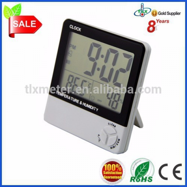 ... Clock Thermometer Hygrometer/Thermo hygrometer Digital LCD Display