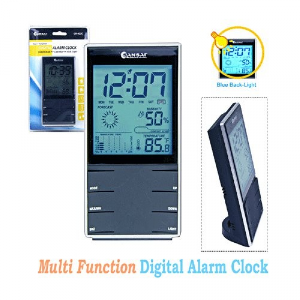... about SANSAI Multi Function Digital Alarm Clock Temperature Humidity